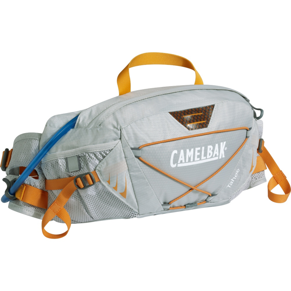 camelbak tahoe lr hydration pack- Save 21% Off - The CamelBak Tahoe LR is a paddle specific lumbar packs for day trips on the water. This PFD compatible hydration pack is perfect for carrying small items and boats a 1.5L reservoir for easy hydration and helpful storage. All fabric is water friendly and quick drying and the Tahoe LR has been given paddle specific features to aid your day. The Paddle holster allows you to quickly stow your paddle handle when hands free motion is required and the Camel Clip lanyard allows you to attach the hydration tube almost anywhere on your person.  Antidote Lumbar Reservoir,  Center Baffling and Low Profile Design,  PureFlow Tubing,  Wide-Mouth Opening,  Paddle Holster & Safety Whistle,  Camel Clip Valve Positioner,  PFD Compatible,  Use: Hydration Pack, Pack Capacity: Under 10 Liters, Model Year: 2016, Product ID: 415758, Model Number: 62247, GTIN: 0886798622477