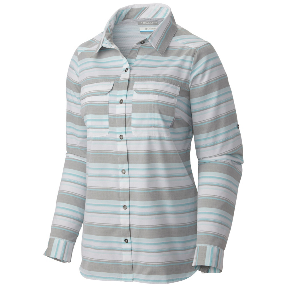Columbia Pilsner Peak Stripe Long Sleeve Womens Shirt