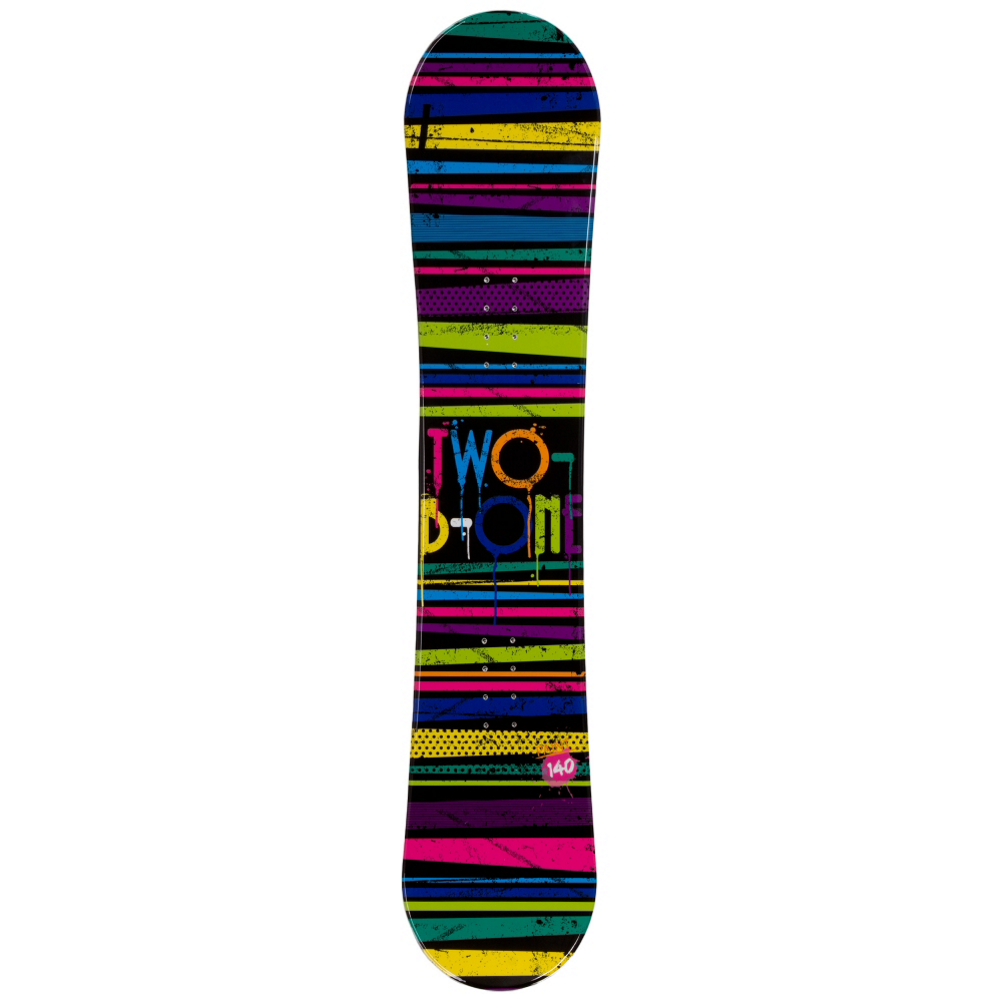 Image of 2B1 Paint Black Womens Snowboard