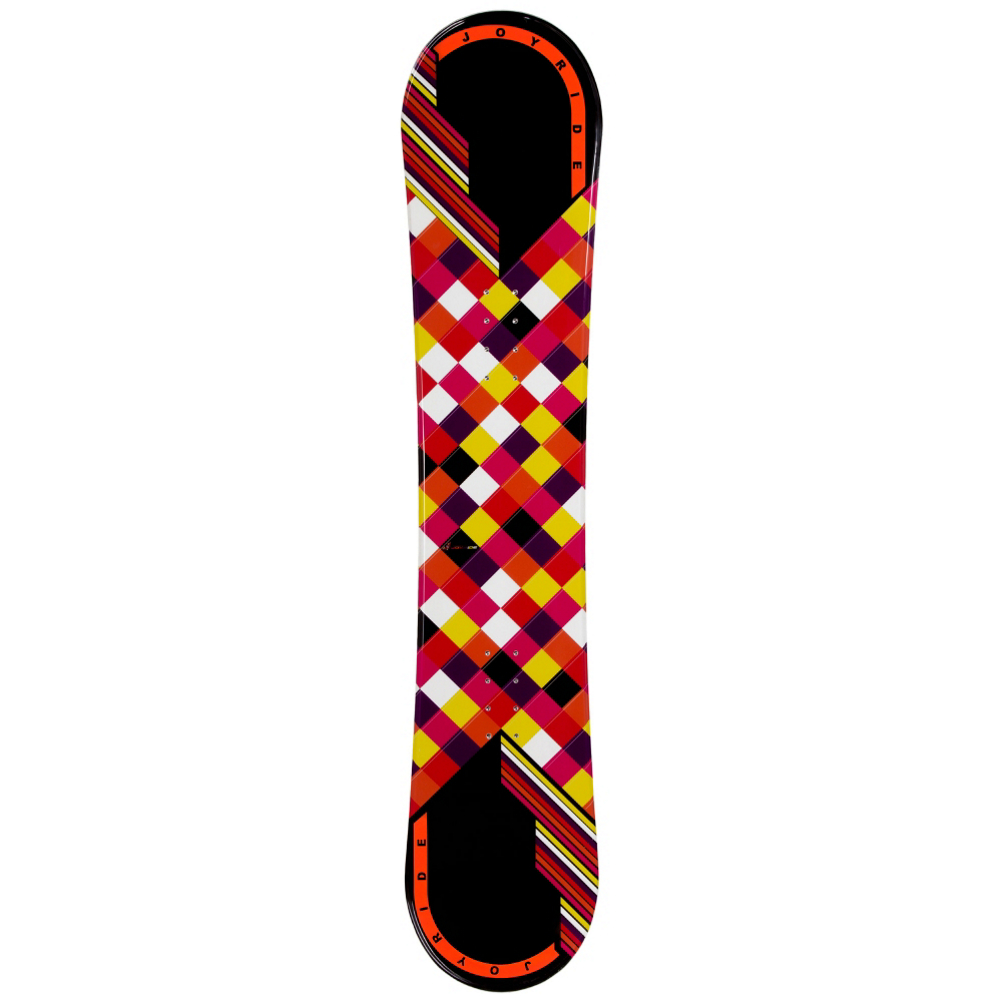 Joyride Checkers Black Womens Snowboard