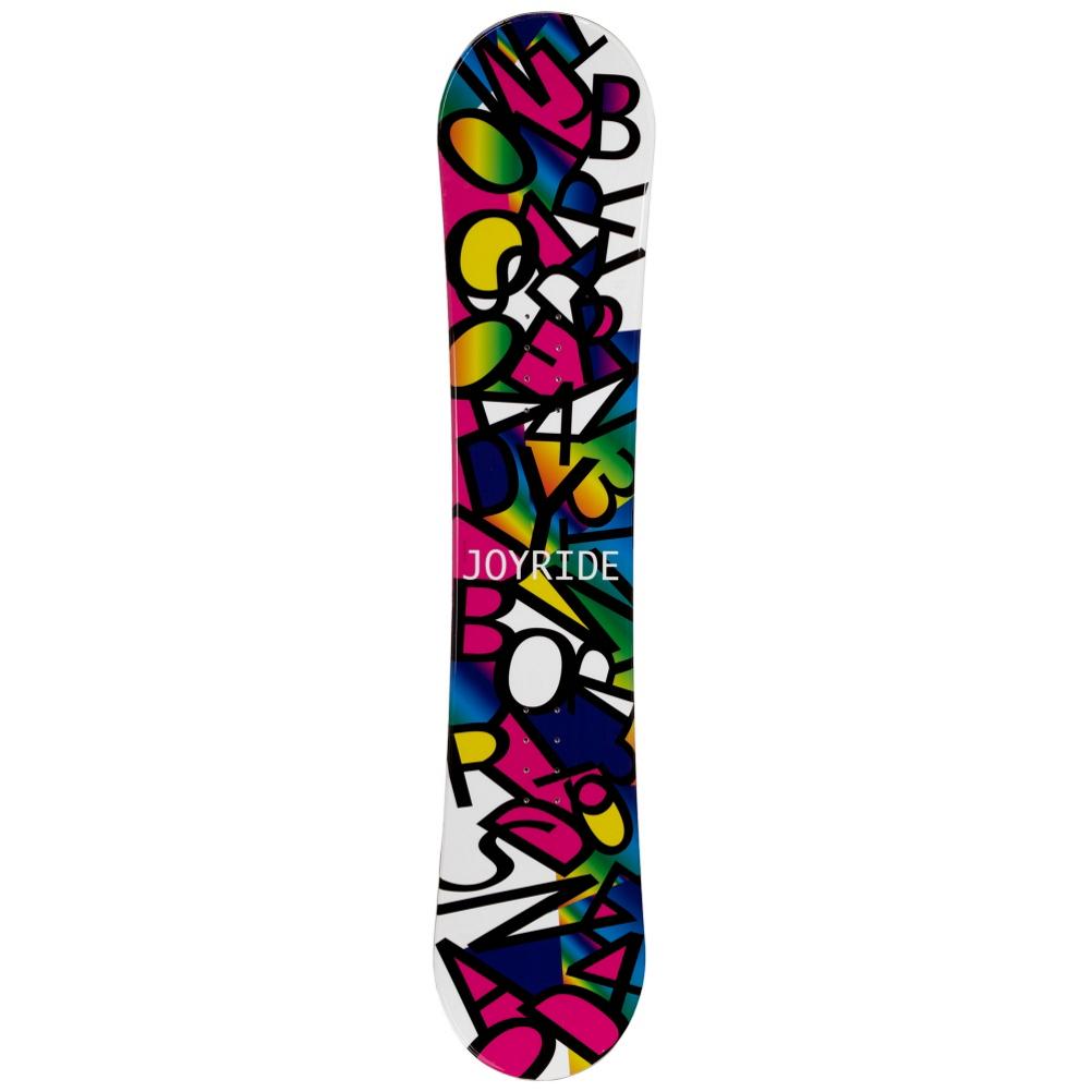 Joyride Letters Black Girls Snowboard