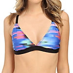 Next Turn Up The Tempo Sport Bra Bathing Suit Top