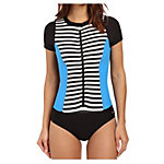 Next Barre To Beach Zip One Piece Swimsuit