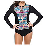 Next Find Your Chi Zip One Piece Swimsuit