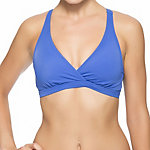Oakley Core Solids Racerback Sport Bra Bathing Suit Top