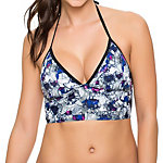 Oakley Wildflowers Midkini Bathing Suit Top