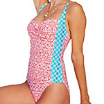 Cabana Life Coral Seas One Piece Swimsuit