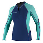 ONeill SuperTech Long Sleeve Crew Womens Rash Guard