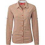 Craghoppers NosiLife Olive Long Sleeved Womens Shirt