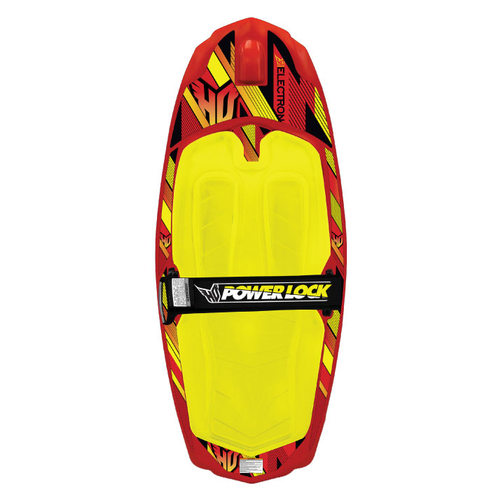 ho sports electron kneeboard- Save 29% Off - The best entry level kneeboard that will provide you with absolute fun and an exhilarating workout. The large surface area and low center of balance makes moves like the backwrap 180 and the hand to hand 360 a snap to learn while on this Electron Kneeboard by HO. The shape of the diamond tip and tail allow for quick release off of the wake along with effortless spin initiation. The easy ease up handle holder is superior for deep water starts while the fully adjustable strap is comfortable and has a custom fit. This kneeboard will turn you into a hard core knee shredder in no time as you enjoy the sunshine and this kneeboard that will keep you coming back to the water over and over.  4 Molded-In Fins,  Large Orthotic Knee Pad,  PowerLock Single Locking Knee Strap,  Integrated Hook: Yes, Kneestrap: Yes, Hull Type: Roto Molded, GTIN: 0054065646048, Model Number: 63707050, Product ID: 426241, Model Year: 2016, Skill Range: Beginner - Advanced Intermediate
