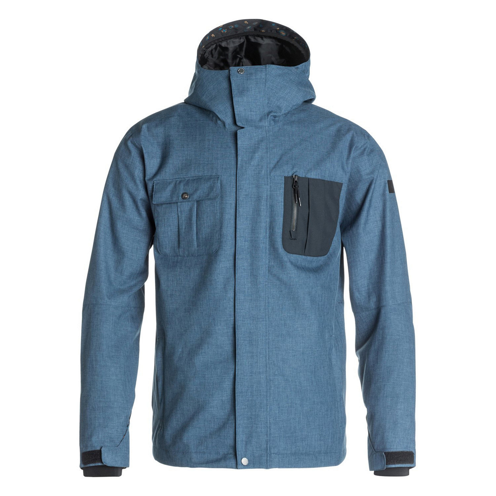 Quiksilver Illusion Mens Shell Snowboard Jacket