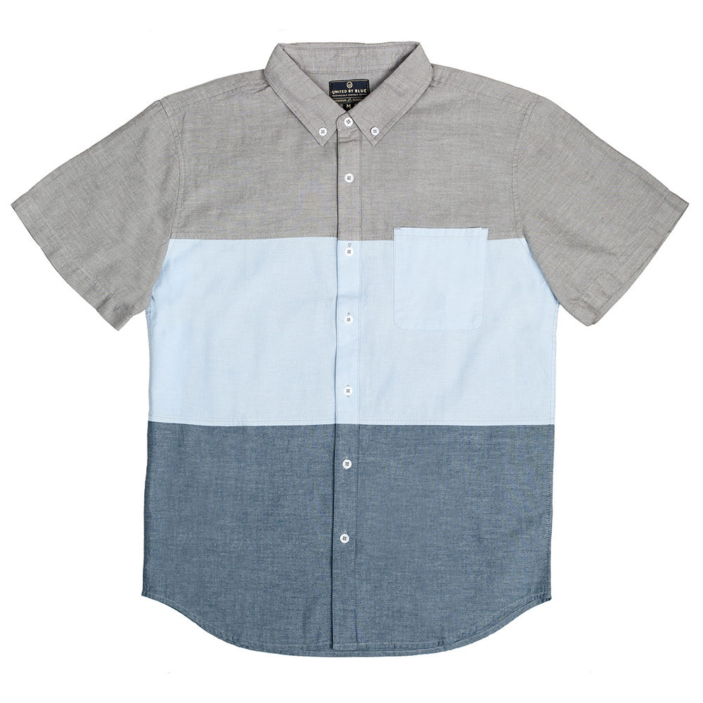 United By Blue Kempston Colorblock Mens Shirt