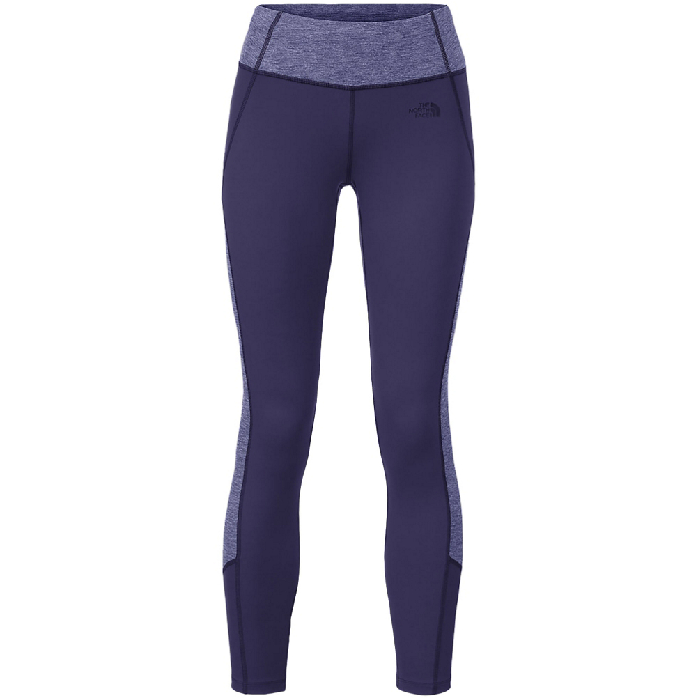 the north face women's motivation colorblock printed legging (previous season)- Save 49% Off - Be Active in The North Face Women's Motivation Colorblock Printed Legging.  These durable training leggings are crafted out of four-way stretch fabric that offers unmatched mobility; while wrapped seams with a wide waistband allow for a flattering fit.  A concealed key pocket is perfect for jogs or short jaunts away from home while the colorblock design adds a touch of style to your active life. Keep moving in the Motivation Legging from North face.  [heather] 44% Polyester/43% Nylon/13% Elastane with FlashDry [print] 88% Nylon/12% Elastane,  Four-way stretch fabric for mobility and coverage,  Concealed key pocket,  Flattering wide waistband,  Colorblock design,  Material: [heather] 44% Polyester/43% Nylon/13% Elastane w/FlashDry [print] 88% Nylon/12% Elastane, Articulated Knee: No, Cargo Pockets: No, Low Rise: No, Warranty: Lifetime, Waist: Elastic, Material: Synthetic, Casual Pant Fit: Slim, Recommended Use: Fitness, Sun Protection: Moisture Wicking, Model Year: 2016, Product ID: 428324, Shipping Restriction: This item is not available for shipment outside of the United States., Model Number: NF00CC9KFSR-S-REG, GTIN: 0715752861877