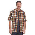 Woolrich Timberline Madras Plaid Mens Shirt