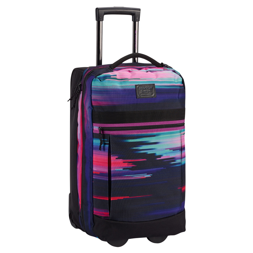 burton charter roller bag 2017- Save 30% Off - Pack to the max for your travels with the Burton Charter Roller Bag.  The Charter offers you flexible storage and an expanded volume that allows you to store up to a months worth of clothes.  Another great feature is if your travels are shorter this bag shrinks down so it is not so big.  The IXION Wheel System will give this Charter Roller a smooth roll.  IXION Wheel System,  Expandable Design,  Internal Fabric Dividers,  Lockable, Contoured Zipper Pulls Fit TSA-Approved Locks,  Model Year: 2017, Product ID: 429316, Shipping Restriction: This item is not available for shipment outside of the United States., Model Number: 11605104965, GTIN: 0889049450928, Luggage Style: Wheeled Luggage, Gear Volume: 53L, Interior Mesh Pocket: No, ID Tag: Yes, Size Dimensions: 22in x 13in x 11in, Exterior Pockets: Yes, Weight of Bag: 5.7 lbs, Airplane Carry-On: Yes, Material: 600D Polyester TPE Coated, Warranty: Lifetime