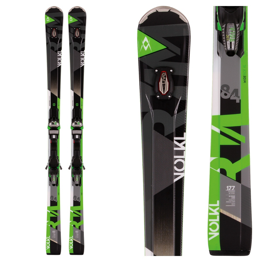 Volkl RTM 84 UVO Skis with Marker IPT Wideride 12.0 Bindings