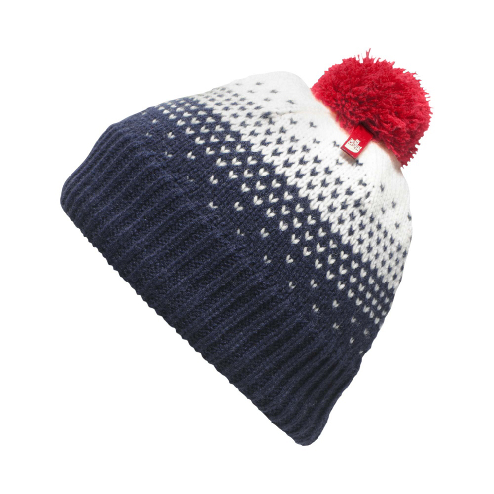 The North Face Youth Pom Pom Beanie Kids Hat (Previous Season)