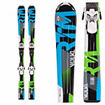 Volkl RTM Jr. Kids Skis with Marker 3Motion Bindings 2017