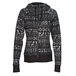 The North Face French Terry Lace Print Full-Zip Womens Hoodie