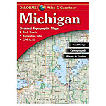 Liberty MTN Sports Michigan Atlas and Gazetteer 2016