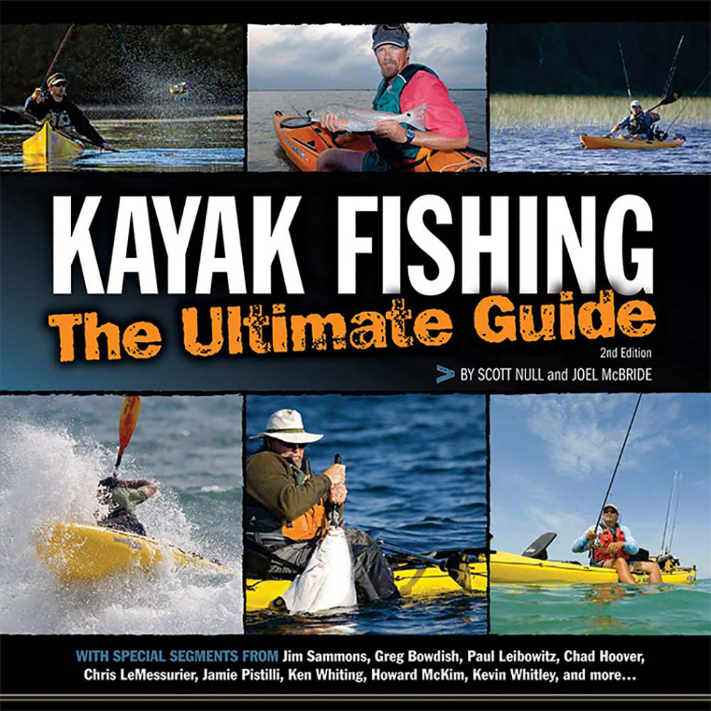 With beautiful new photography and the knowledge of 20 influential kayak angling pros, Kayak Fishing - The Ultimate Guide offers new kayak anglers the information they need for entry into the sport; and advanced anglers a slew of advanced kayak fishing techniques. This book focuses on skills, concepts, tips and tricks so that you can have the best experience possible out on the water.  The fundamentals of kayak fishing,  Essential strokes and paddling techniques,  Bait and lure fishing from a kayak,  Fly fishing from a kayak,  Fighting and landing fish from a kayak,  Freshwater kayak fishing,  Saltwater kayak fishing,  Kayak fishing safety and necessary equipment,  Model Year: 2017, Product ID: 439968, Model Number: 102463