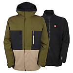 686 Authentic Smarty Form Mens Insulated Snowboard Jacket