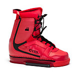CTRL Imperial Red Wakeboard Bindings