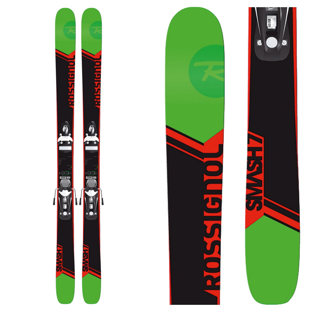 Rossignol Smash 7 Skis with Xpress 11 Bindings 2017