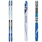 Salomon Snowscape 7 Siam Womens Cross Country Skis with Bindings