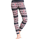 Purnell Reindeer Print Base Layer Legging