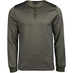 United By Blue Standard Long Sleeve Henley Mens Shirt