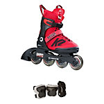 K2 Raider Pro Pack Adjustable Kids Inline Skates 2017