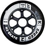 K2 Speed 100mm 85A Inline Skate Wheels - 4 Pack 2018