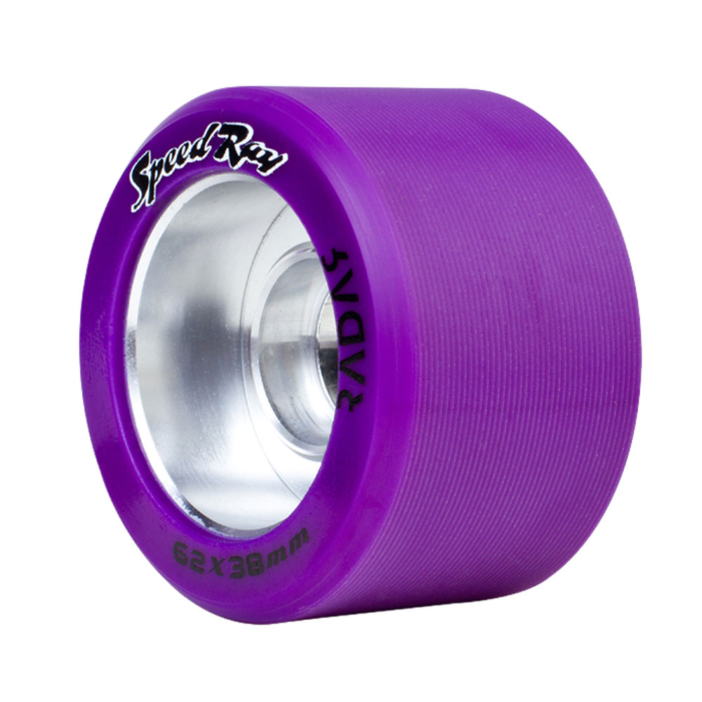 Riedell Speed Ray 4 Pack Roller Skate Wheels 2017