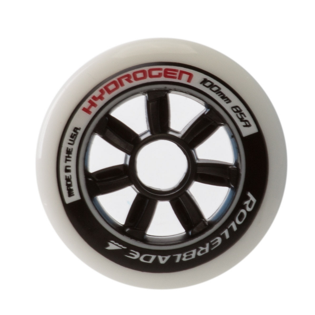 Rollerblade Hydrogen 100mm 85A Inline Skate Wheels - 8 Pack 2019