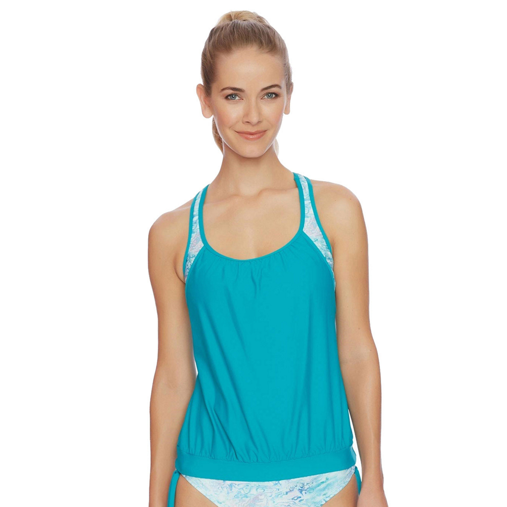Next Serenity Double Up Tankini Bathing Suit Top