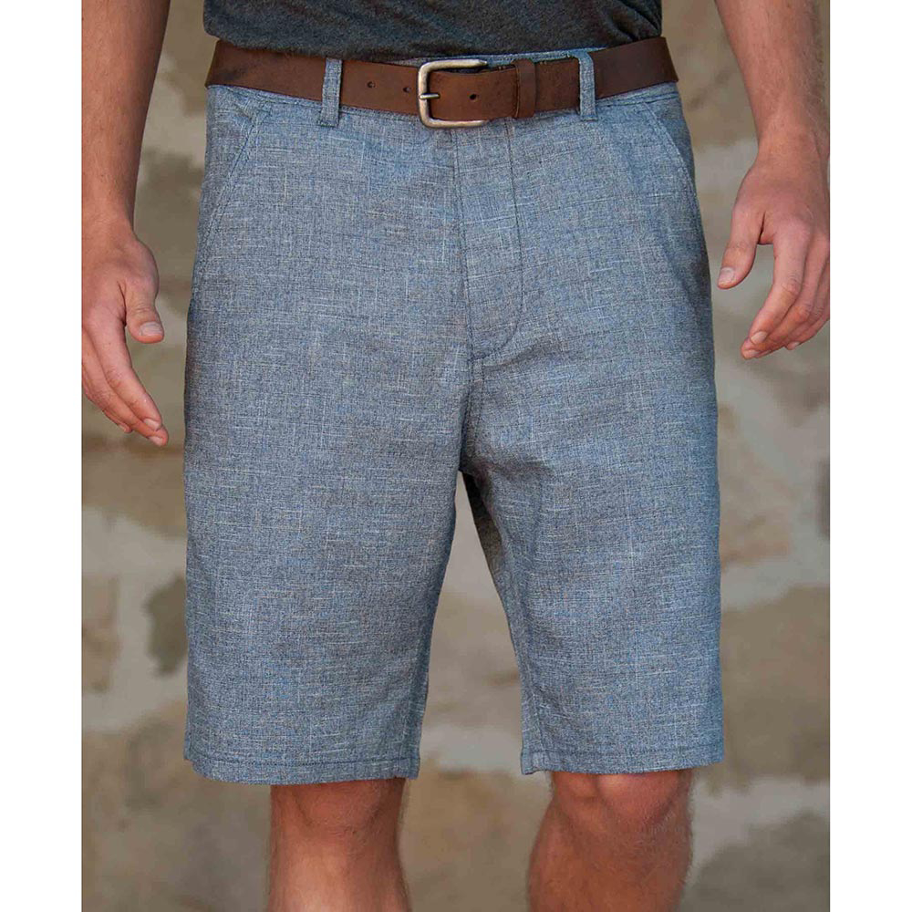 Product image of Purnell Indigo Crosshatch Mens Shorts