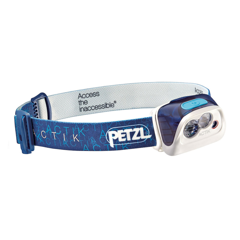 petzl actik headlamp 2017- Save 25% Off - The ACTIK headlamp from Petzl offers 300 lumen brightness. Featuring a mixed beam, it is ideal for outdoor activities like mountaineering, running, hiking and backpacking. Red lighting preserves night vision and prevents blinding other members of the group. Its reflective headband helps you to be seen when a light is shone on it, and is equipped with an emergency whistle for rescue situations. ACTIK is a HYBRID headlamp that is also compatible with the CORE rechargeable battery.  Powerful (300 Lumens) Versatile Headlamp,  Two Beam Patters: Wide or Mixed,  Lighting Modes: Proximity, Distance Vision and Rapid Movement,  Long Burn Time,  Red Lighting Preserves Night Vision,  Reflective Headband with Emergency Whistle for Rescue Situations,  ACTIK is a Hybrid Headlamp: Comes with 3 Standard Batteries and is Compatible with CORE Rechargeable Battery (Sold Separately),  Rechargeable: No, Water Resistant: Yes, Use: Camping, Bulb Type: LED, Max Light Output: 300 Lumens, Light Output Range: Low: 5 Lumens, High: 300 Lumens, Beam Type: Wide or Mixed, Max Beam Distance: 90 meters, Beam Distance Range: Low: 5 meters, High: 90 meters, Brightness Levels: 3, Strobes: Yes, Red Light Mode: Yes, Average Run Time: Low: 60 hours, High: 260 hours, Batteries: 3 AAA/LR03 Batteries or CORE Rechargeable Battery (Sold Separately), Weight With Batteries: 92g, Product ID: 470488, Model Number: E99AAC, GTIN: 3342540106635, Model Year: 2017