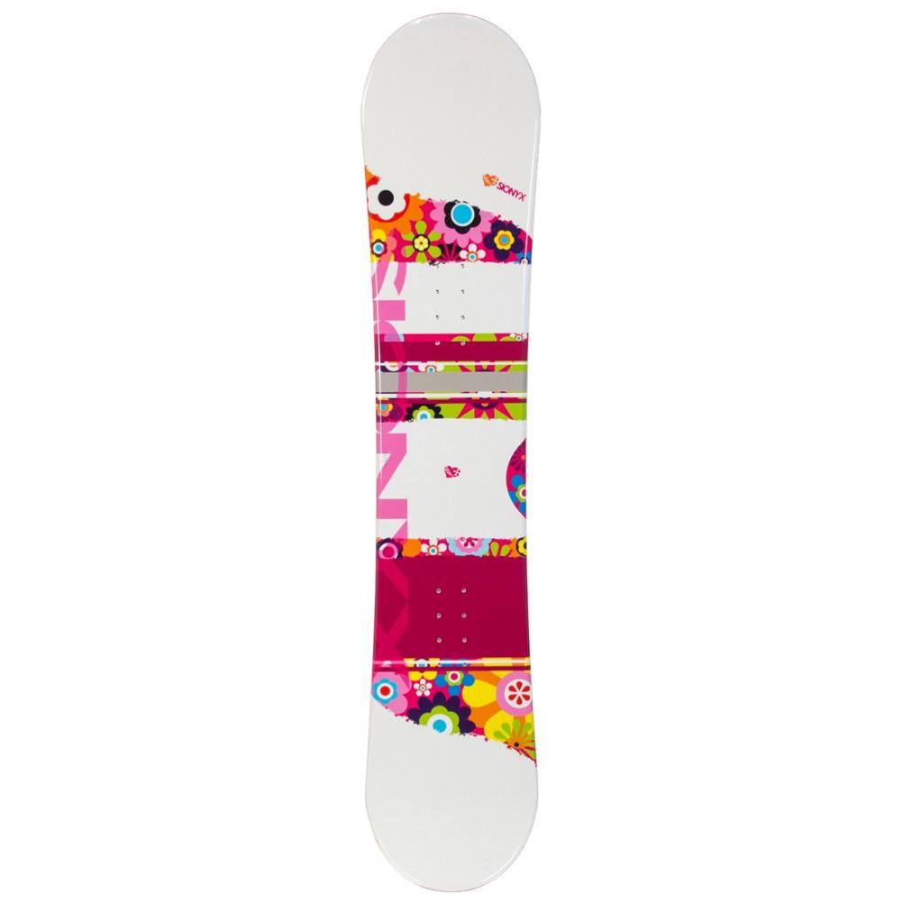 Sionyx Flower Girl White Girls Snowboard