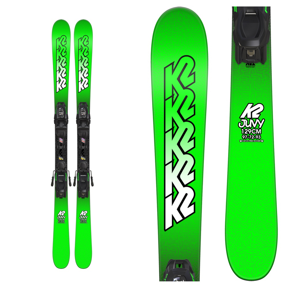 K2 Juvy Kids Skis with FDT 4.5 Bindings 2019