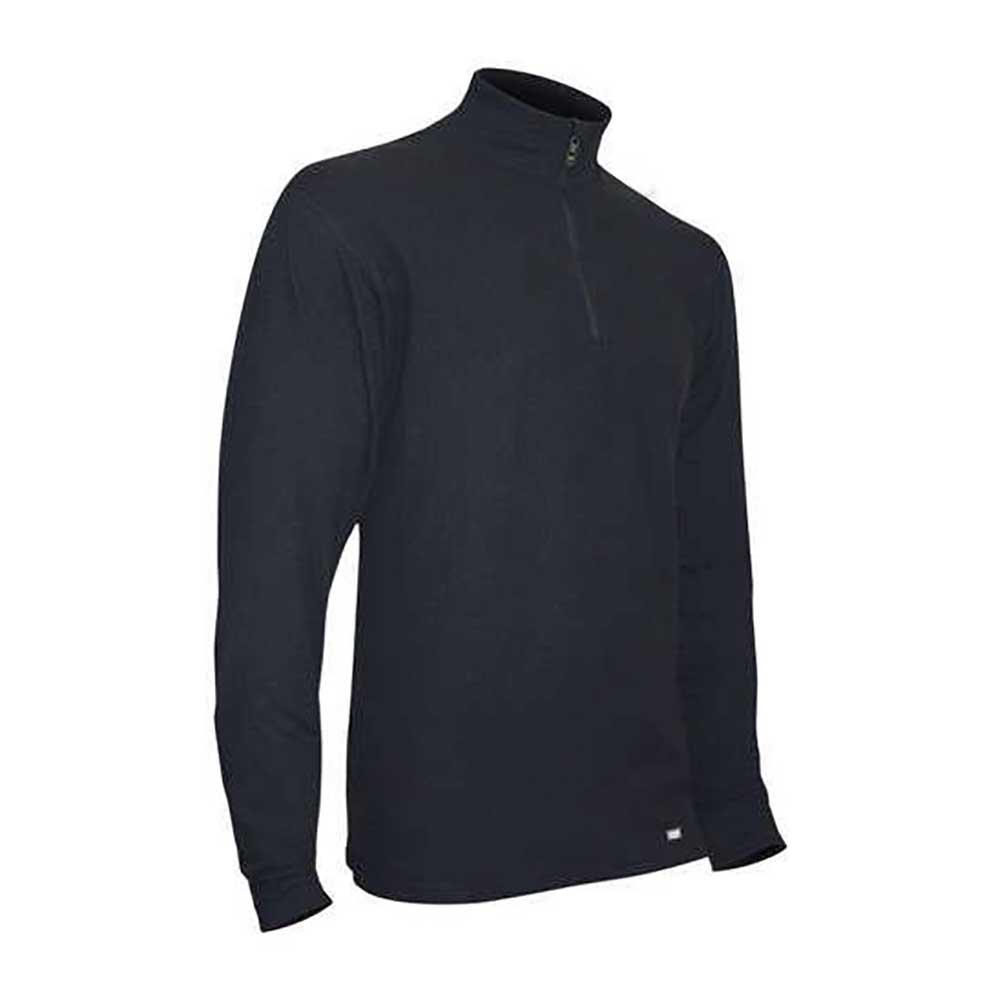 PolarMax Quattro Zip Mock Mens Long Underwear Top