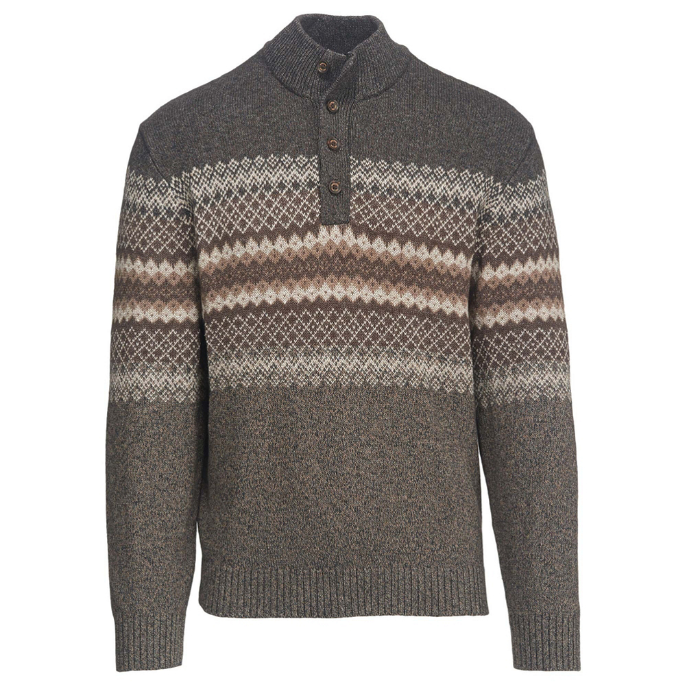 Woolrich Deep Channel Henley Mens Sweater