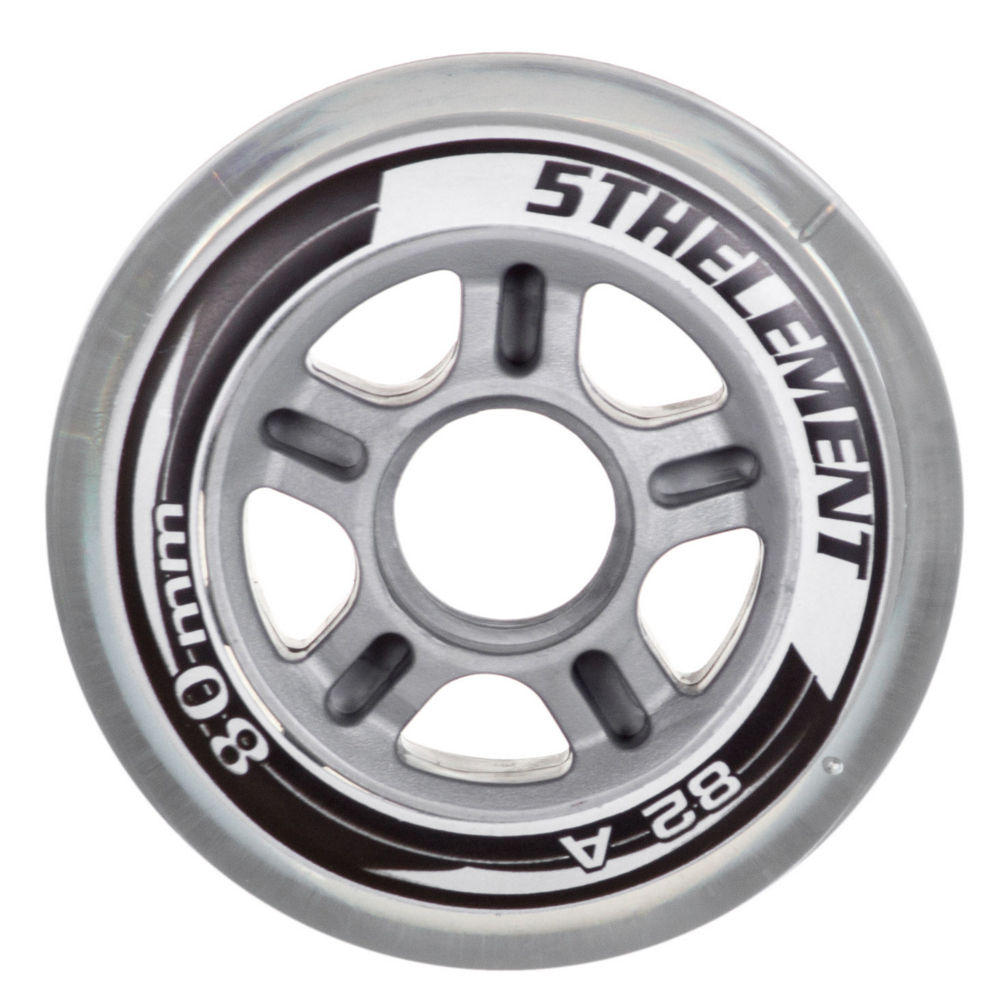 Image of 5th Element 80mm - 8 Pack Inline Skate Wheels 2019