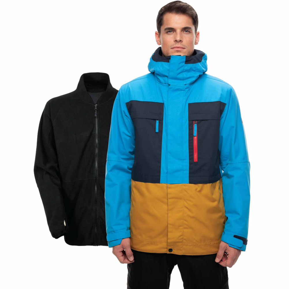 686 Smarty 3-in-1 Form Mens Insulated Snowboard Jacket
