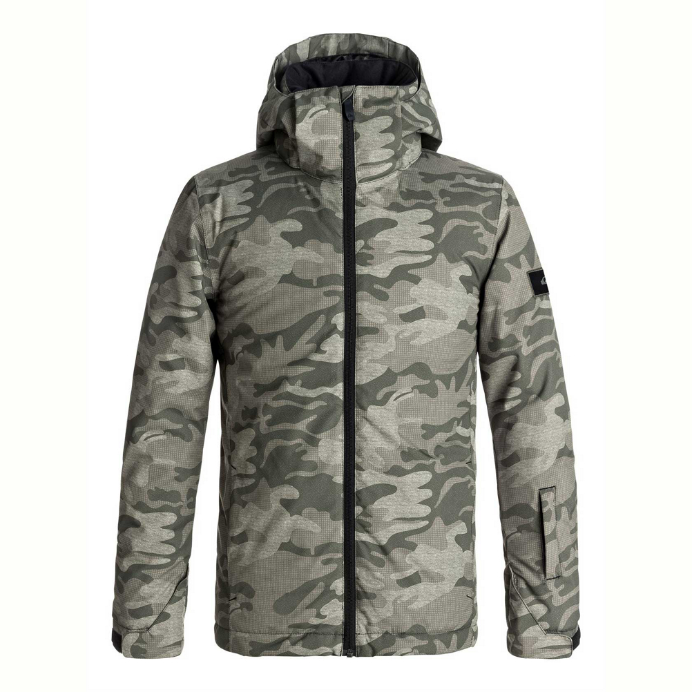 Quiksilver Mission Printed Boys Snowboard Jacket