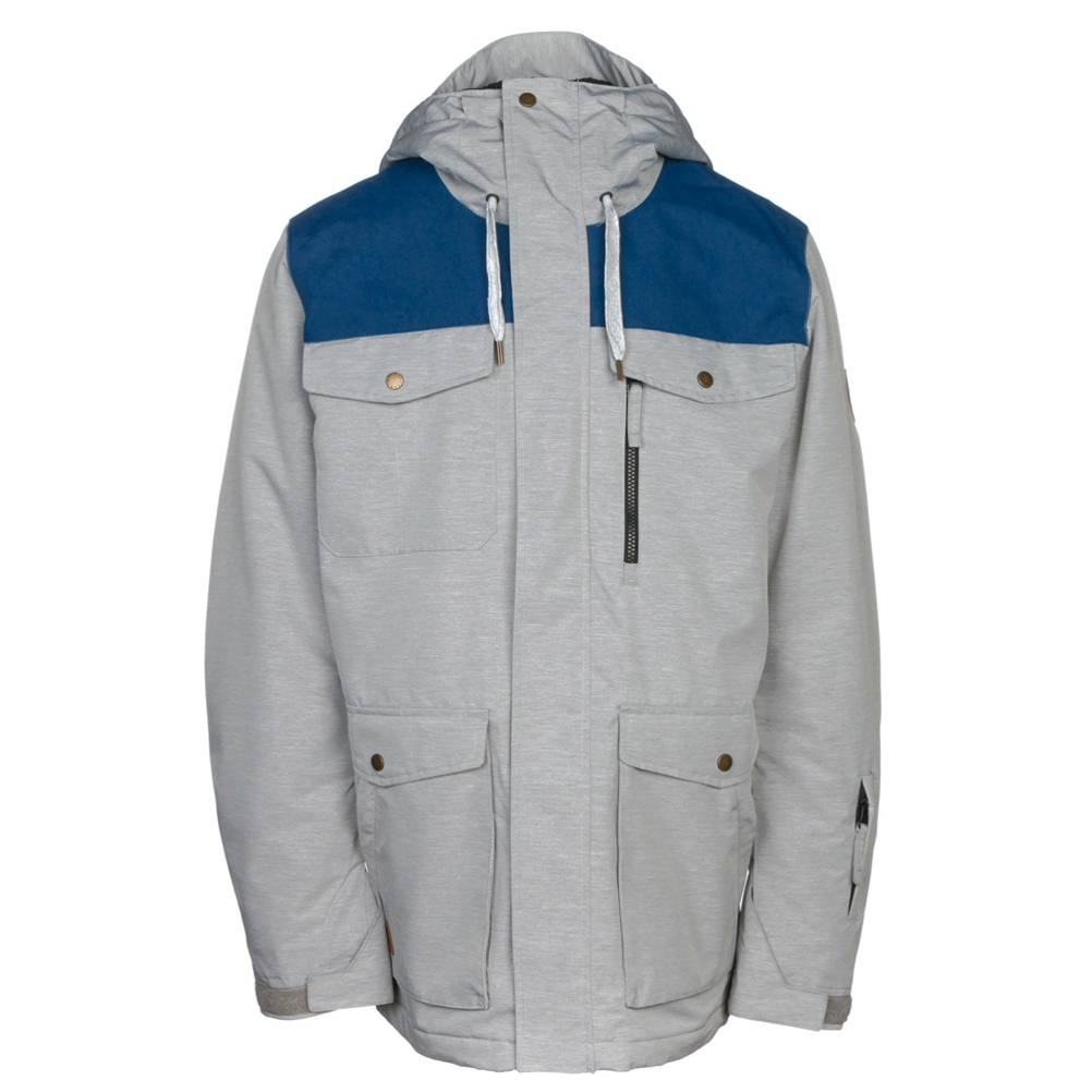 Quiksilver Raft Mens Insulated Snowboard Jacket