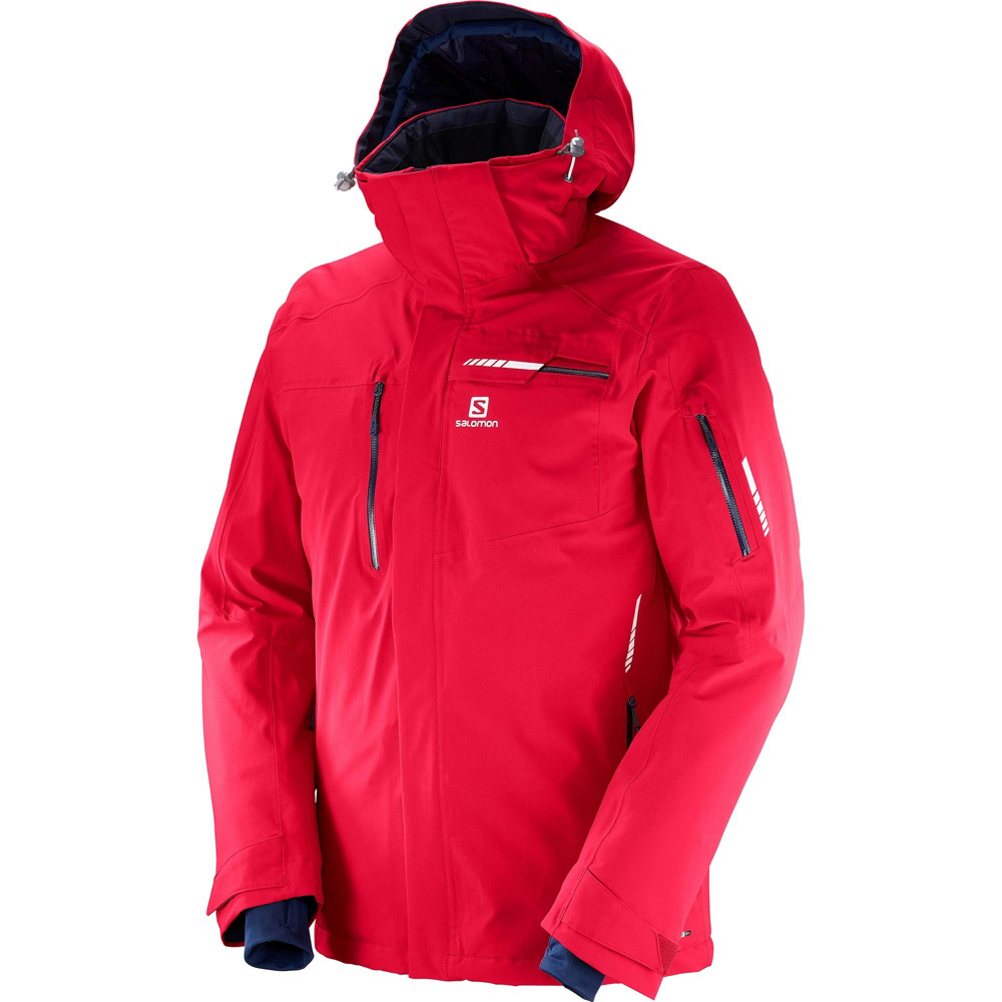 Salomon Brilliant Mens Insulated Ski Jacket 483328999