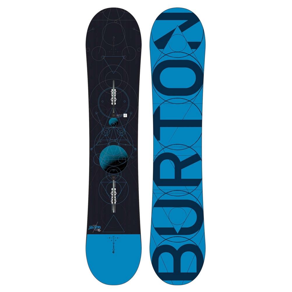 Burton Custom Smalls Boys Snowboard 2018 490803999