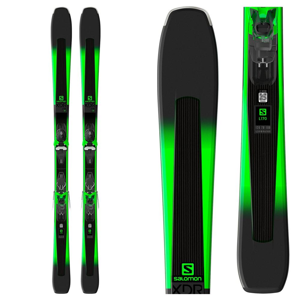 Salomon XDR 78 ST Skis with Mercury 11 Bindings
