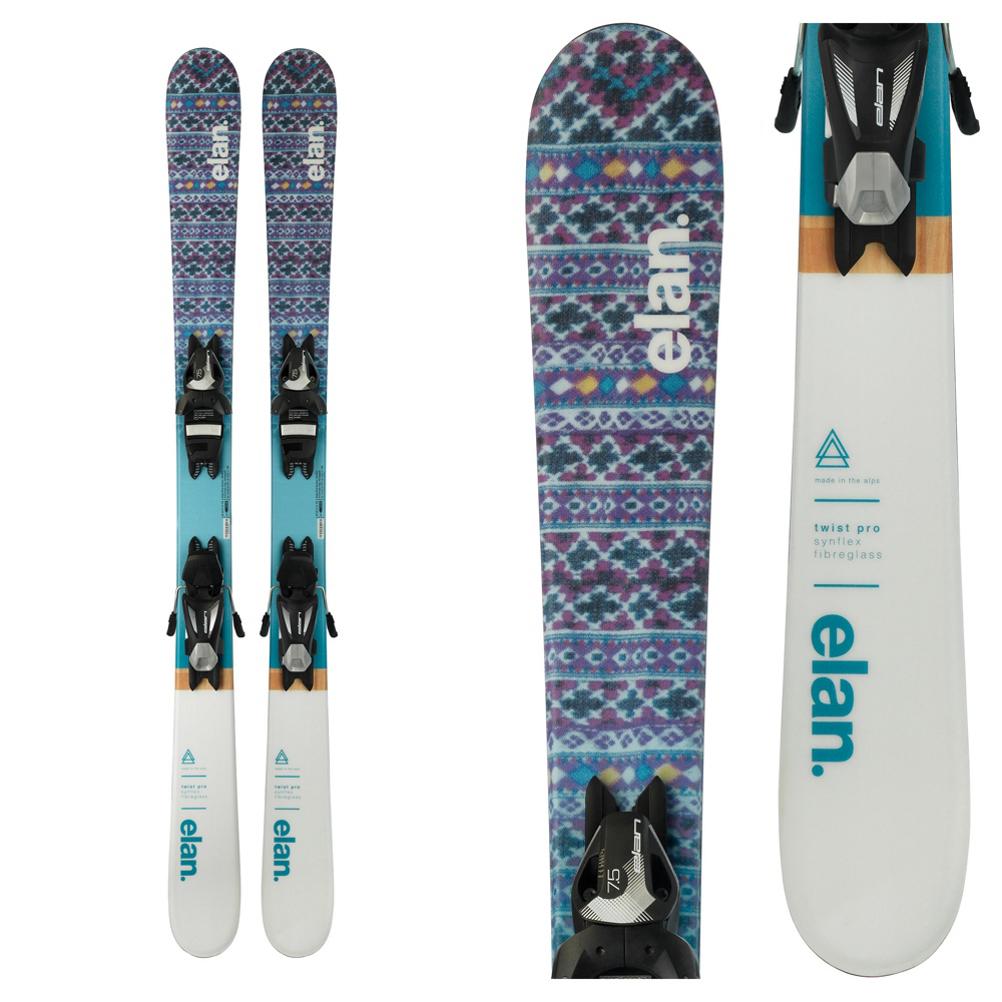 Elan Twist Pro Kids Skis with EL 7.5 Bindings 2019